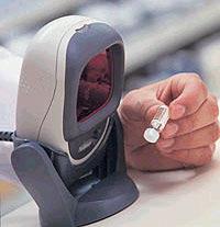 Многоплоскостной  сканер штрих-кода  LS 9208