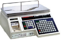 Весы с печатью этикетки  CAS LP/LP-R